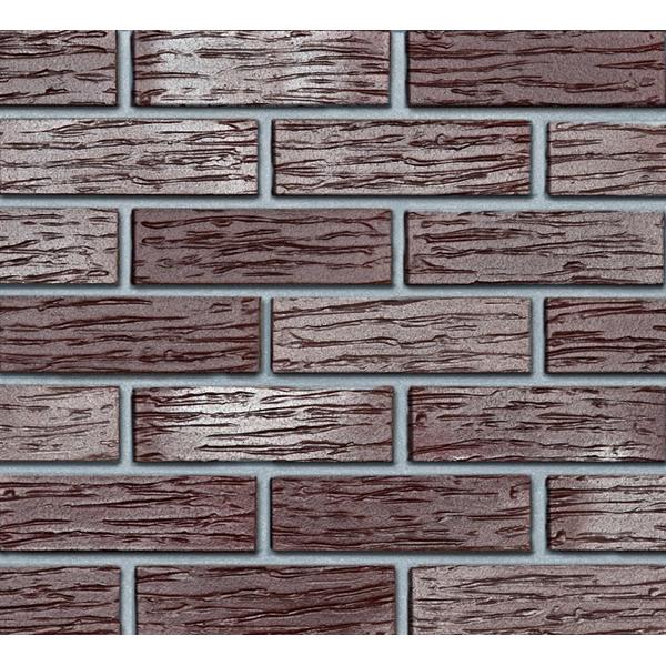 Облицовочный клинкерный кирпич Roben Adelajda NF рифленый с оттенком