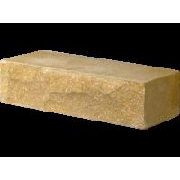 Кирпич гиперпрессованный Декор Бетон рядовой желтый