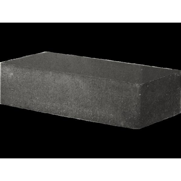 Гиперпрессованный кирпич рядовой гладкий 250х120х65 черный