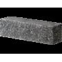 Гиперпрессованный кирпич брусок угловой 225х55х65 черный