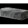Гиперпрессованный кирпич угловой 225х100х65 черный