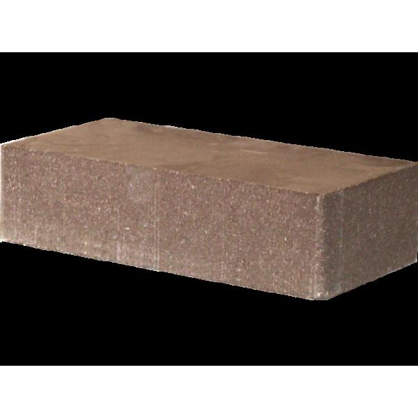 Гиперпрессованный кирпич рядовой гладкий 250х120х65 коричневый