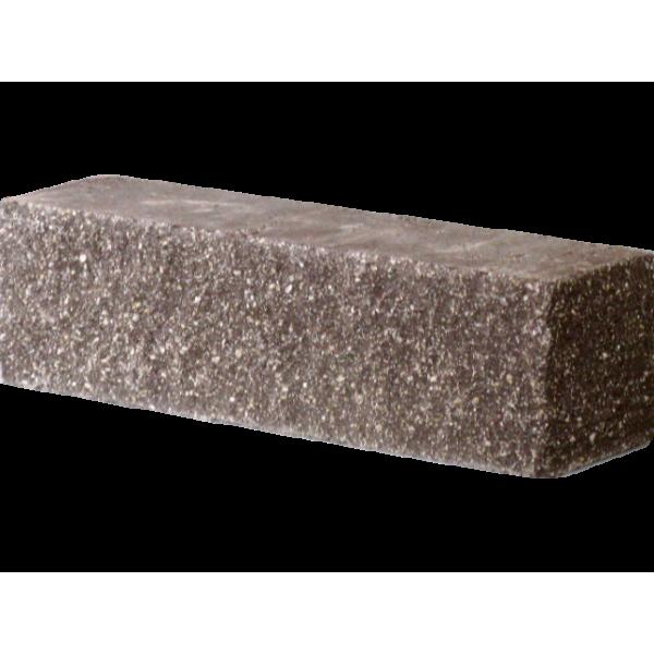 Гиперпрессованный кирпич брусок угловой 225х55х65 коричневый