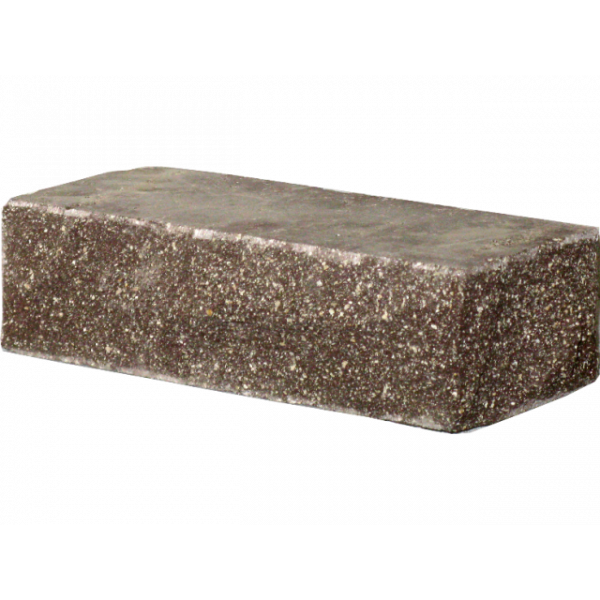 Гиперпрессованный кирпич угловой 225х100х65 коричневый