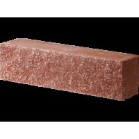 Кирпич гиперпрессованный Декор Бетон половинка рядовой красный