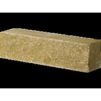 Кирпич гиперпрессованный Декор Бетон половинка рядовой оливковый