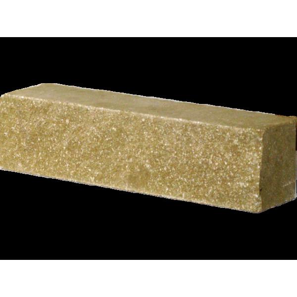 Кирпич гиперпрессованный оливковый брусок (250х55х65)