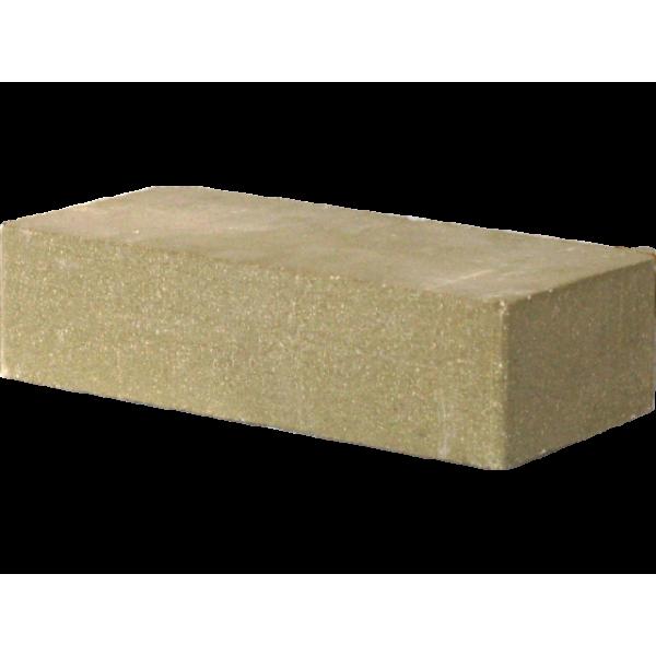 Гиперпрессованный кирпич рядовой гладкий 250х120х65 оливковый