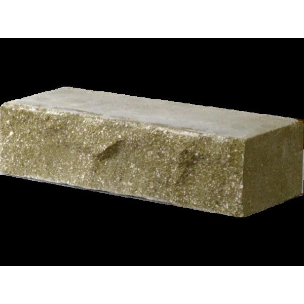 Гиперпрессованный кирпич скала рядовой (250х100х65) оливковый