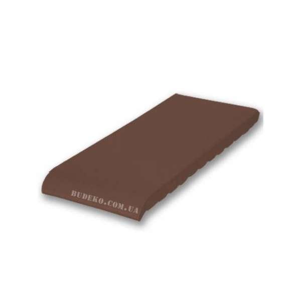 Подоконник из клинкера (03) коричневый