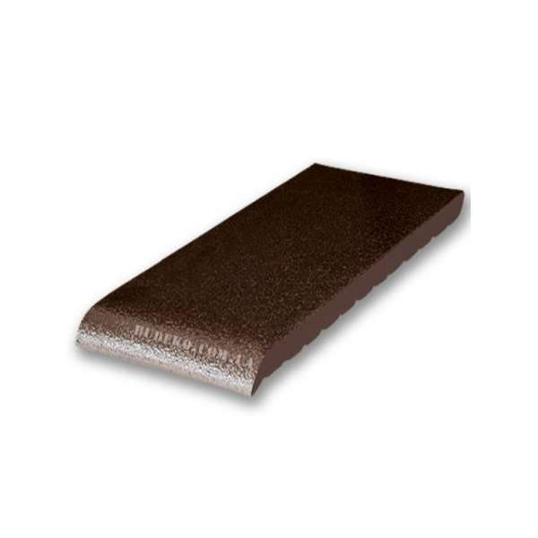 Подоконник из клинкера коричневый глазурованный