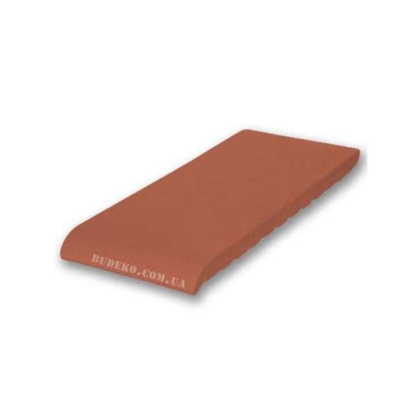 Подоконник из клинкера рубиново-красный