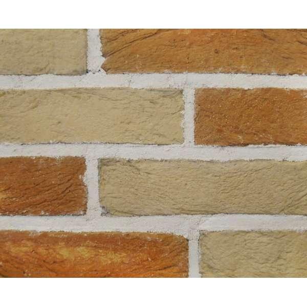 Плитка (камень) бетонная Бельгийский кирпич Танжерин