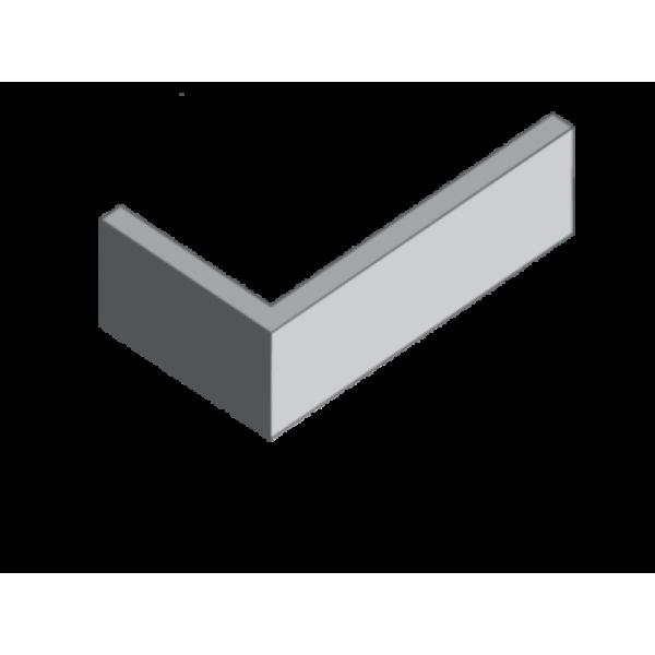 Угловая плитка (камень) бетонная Клинкер