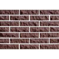 Плитка фасадная Евроцегла скала стандарт 250х65х20 коричневая