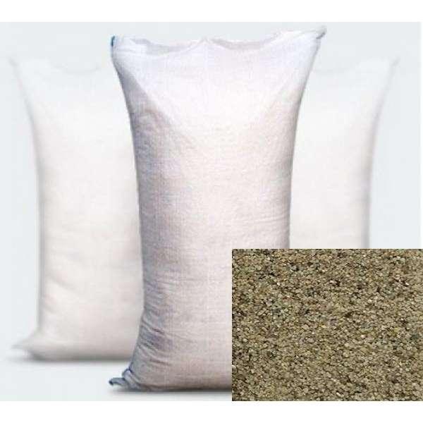 Кварцевый песок фракции 0,8-1,2 (в мешках по 25 кг)