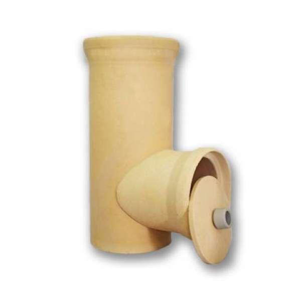 Ревизия керамическая для дымохода размера Ø 200