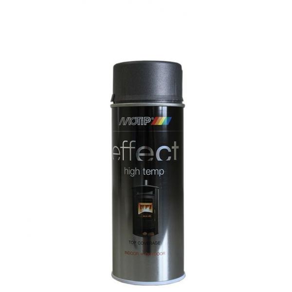 Термостойкая краска-спрей MOTIP для печей и каминов до 800°С
