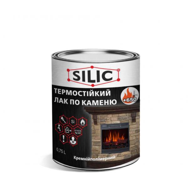 Термостойкий лак SILIC КО-85 для печей и каминов до + 650°С