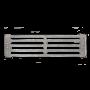 Колосник 2 SVT 103, 110 х 365 мм
