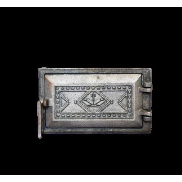 """Дверца поддувальная """"Вышиванка"""", 265х165 мм"""