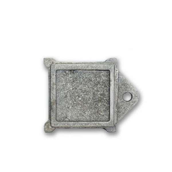 Задвижка чугунная  квадратная, 265х190 мм
