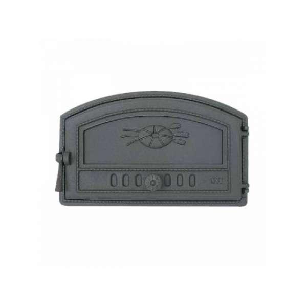 Дверца хлебной печи, герметичная, сплошная, правая SVT 422, 470х290 мм