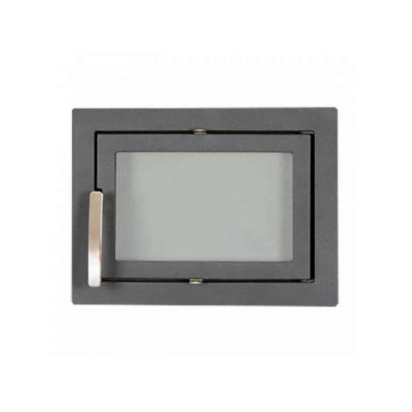 Каминная дверца SVT 502 симметричная герметичная, 424х314 мм