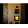 Каминная дверца SVT 501 симметричная герметичная, 474х474 мм