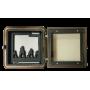 Топочная дверца Wamsler W190054 со стеклом (210x210)