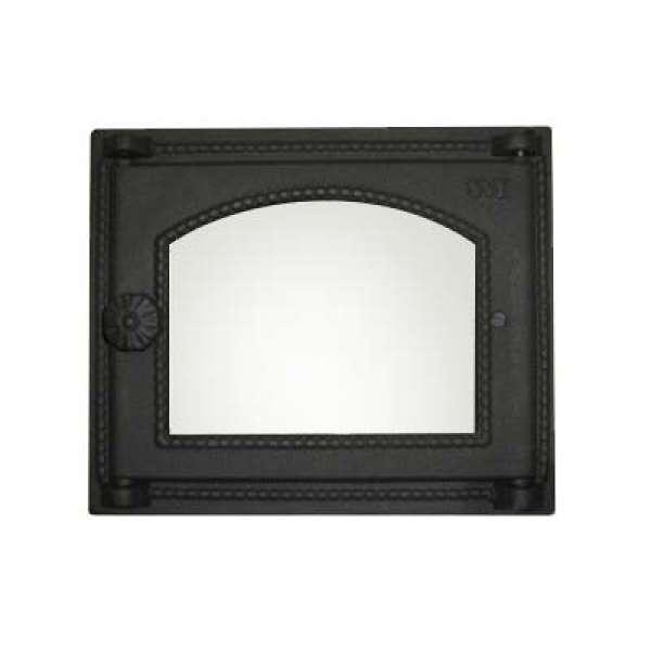 Дверца духовки SVT 451 застеклённая, 345х290 мм