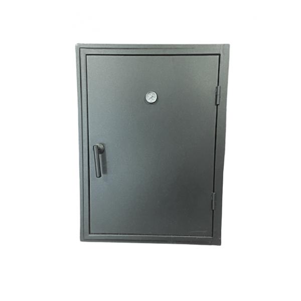Стальная дверка на коптильню, 563Х765 мм