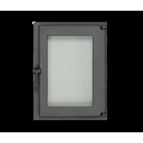 Каминная дверца SVT 505 симметричная герметичная, 343х460 мм