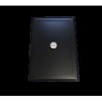 Дверка на коптильню стальная, с термодатчиком