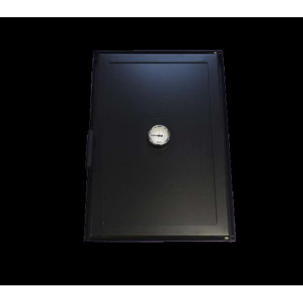 Стальная дверца для коптильни, 400Х600 мм
