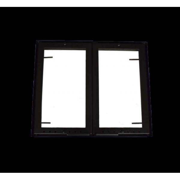 Дверца стальная, размер под заказ