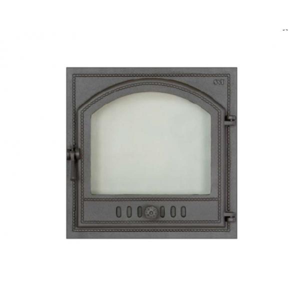 Дверца камина SVT 405 герметичная правая, 343х460 мм