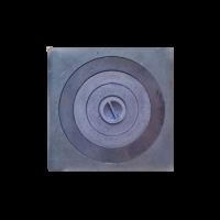 Плита одноконфорочная с увеличенным отверстием, 410х410 мм