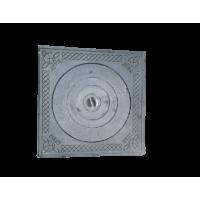 Плита одноконфорочная с узором, 530х530 мм