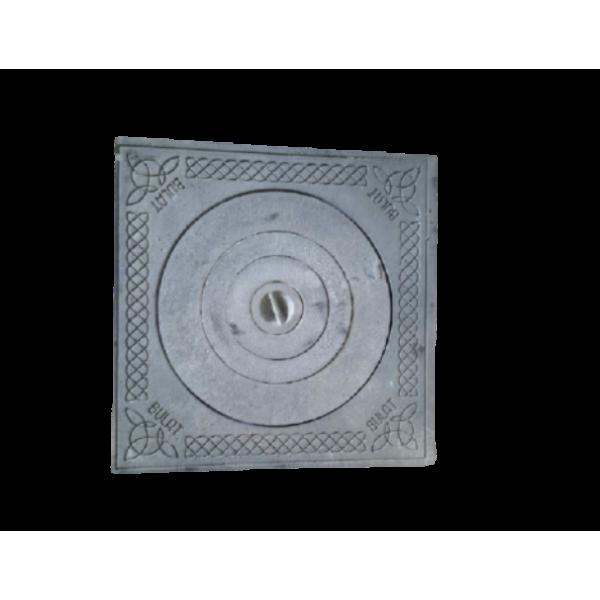 Плита тандырная 530х530 мм с узором