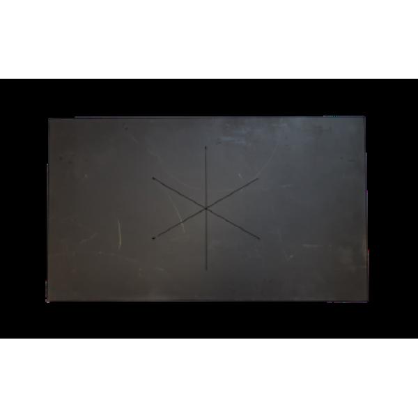 Стальная плита для печи, глухая 710х410 мм
