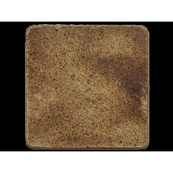 Плитка шамотная ручной формовки 195х195 мм