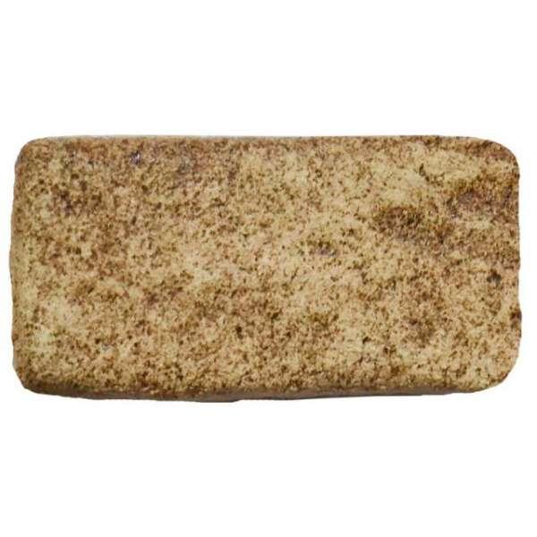 Шамотная плитка для печи ручной формовки 115х55 мм