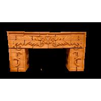 Портал для камина из Витебского кирпича