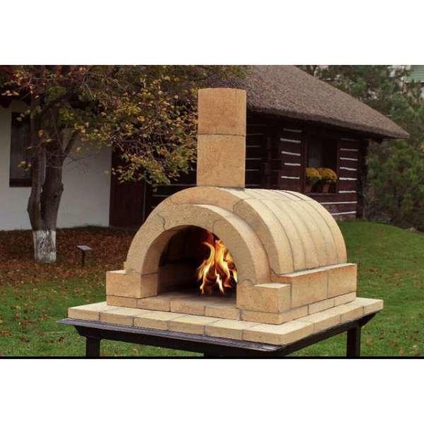 Компактная переносная печь из шамота Girtech Bravo