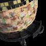 Настольный утепленный тандыр с откидной крышкой