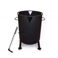 Печь под казан с поддувом Ø 335 мм