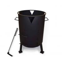 Печь под казан с поддувом Ø 390 мм