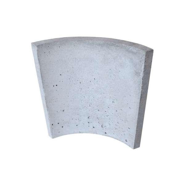 Радиусная плита для камина SUPERTERMIK 700 (1/4 круга)