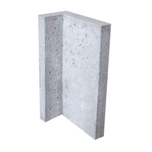 Теплоемкая угловая плита для камина SUPERTERMIK 700 (угол 90°)